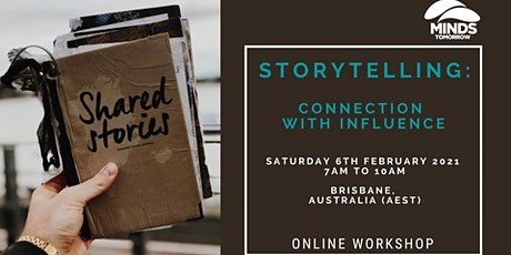 Storytelling: connection with influence (online workshop) tickets