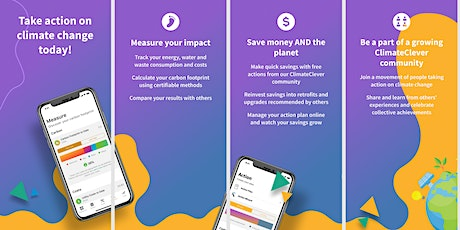 ClimateClever Business App - Info Session & Demo tickets