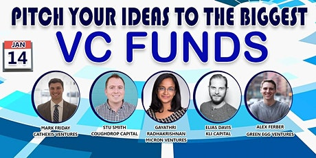 Pitch Your Startup To Top VC's tickets