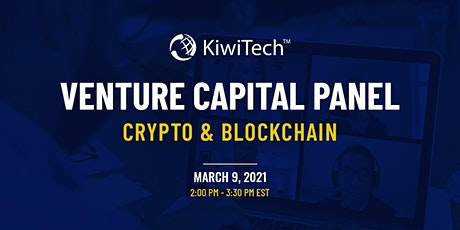 KiwiTech's Venture Capital Panel - Crypto & Blockchain tickets