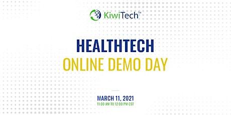 KiwiTech's Online Demo Day - HealthTech tickets