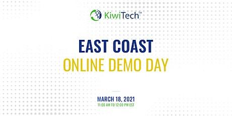 KiwiTech's Online Demo Day - East Coast tickets