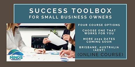 Success Toolbox for Small Business Owners (online short course) tickets