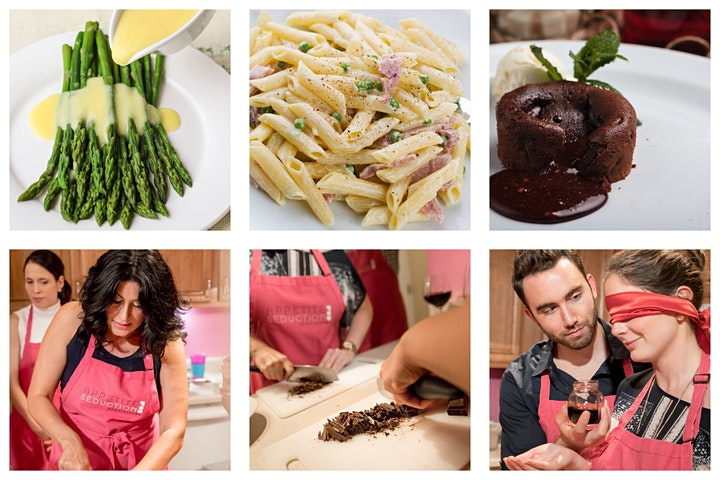 Aphrodisiac VDay Cooking Class (ONLINE) - Multiple dates image
