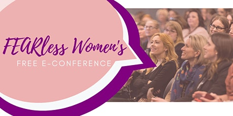 FEARless Women's E-Conference tickets