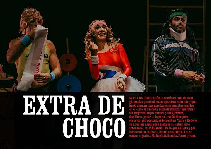 """Imagen de Teatro de HUMOR """"Extra de choco"""" (Cía. Mundobobo)"""