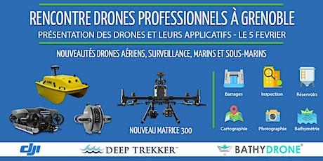 Rencontre drone à Grenoble - Outils techniques, enjeux et utilisations billets