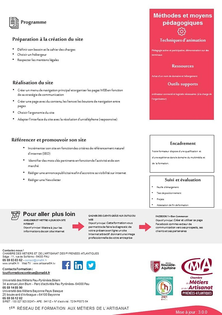 Image pour Créer et administrer son site internet pour TPE-PME