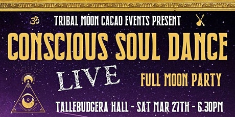 Conscious Soul Dance - Full Moon Party tickets