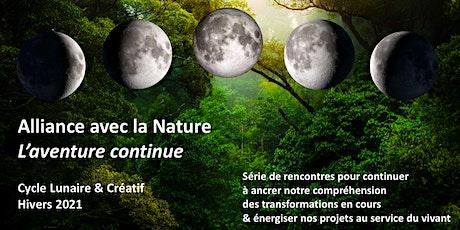 Alliance avec la Nature - Cycle Lunaire & Créatif billets