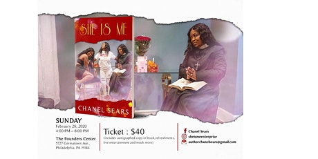 She Is Me Book Launch By Chanel Sears tickets