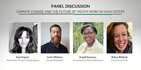 Panel discussion: Climate Change and the future of Youth Work in Manchester tickets
