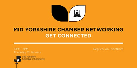 Mid Yorkshire Chamber networking tickets