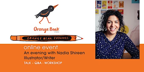 Online talk and Q&A with Children's Book illustrator/writer Nadia Shireen tickets