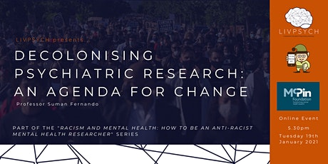 Decolonising Psychiatric Research: An Agenda for Change tickets