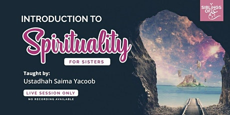 Introduction to Spirituality tickets