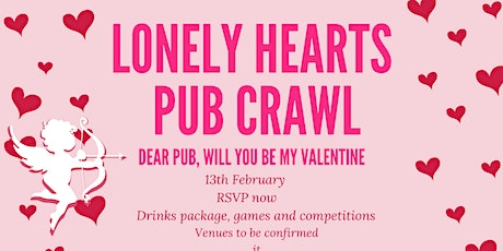 Lonely Hearts Pub Crawl tickets