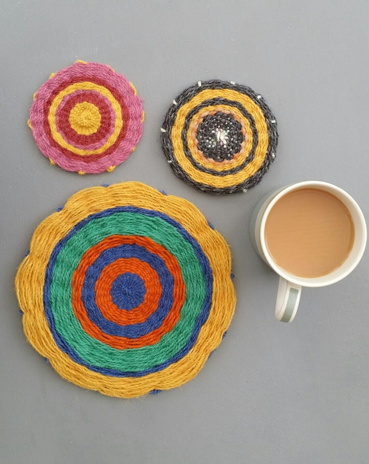 Making Coasters  with Agnis Smallwood image