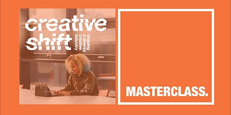 Creative Shift Masterclasses - How to complete your LinkedIn profile tickets