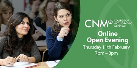 CNM Online Open Evening - Thursday, 11th February 2021 tickets