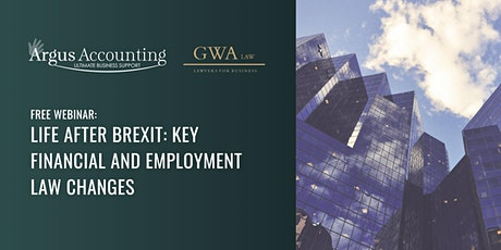 Life after Brexit: Key financial and employment law changes tickets