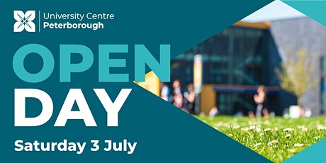 Open Day - University Centre Peterborough (Saturday 3rd July 2021) tickets