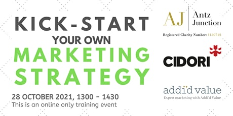 Kick-Start Your Own Marketing Strategy (28 October 2021) tickets