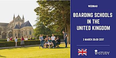 Free webinar Boarding Schools in the UK