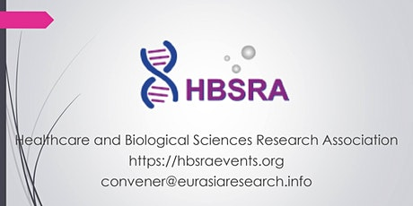 2021 – 24th International Conference on Research in Life-Sciences & Healthc Tickets
