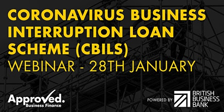 How to access Immediate Business Finance with CBILS - Webinar tickets