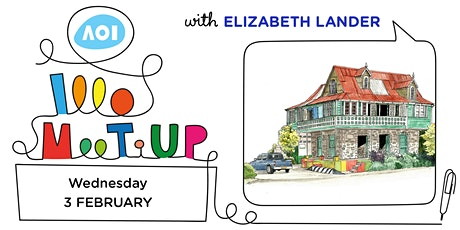 Drawing Architecture with Elizabeth Lander - London Meet-Up tickets