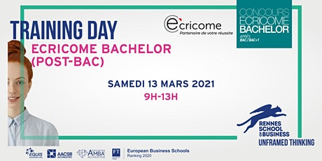 Training Day - Ecricome Bachelor (post-bac) billets