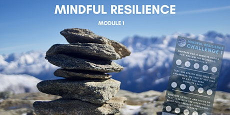 Mindful Resilience Course - Module 1 tickets