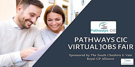 Pathways CIC Virtual Jobs Fair tickets