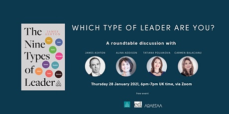 """Which Type of Leader are you?"" tickets"