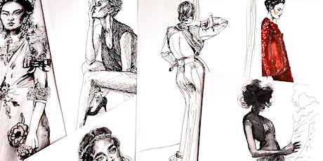Figure Drawing & Fashion Illustration - Art Lesson with Rebecca Feneley tickets