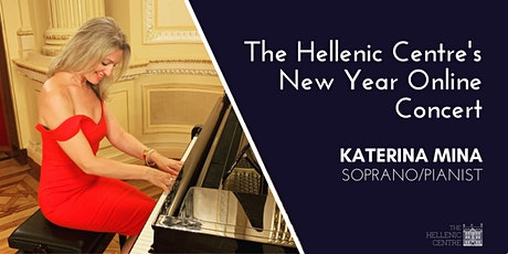 The Hellenic Centre's New Year Online Concert tickets