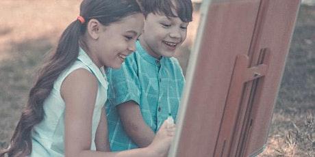KIDS ART CLUB - APRIL  'PAPER MARBLING' tickets