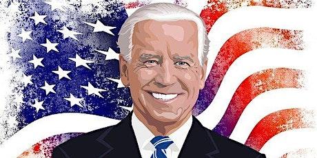 Face to Face debates - 'President Biden will make America decent again' tickets