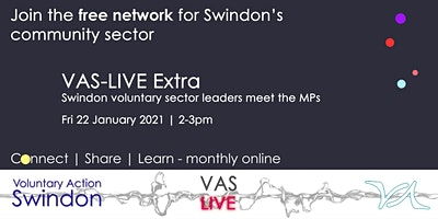 VAS-LIVE Extra – Voluntary Sector Leaders meet the MPs