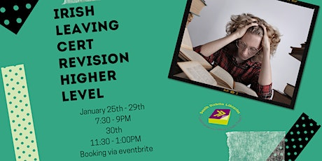 Irish Revision Course for Higher Level 25 - 30 January tickets