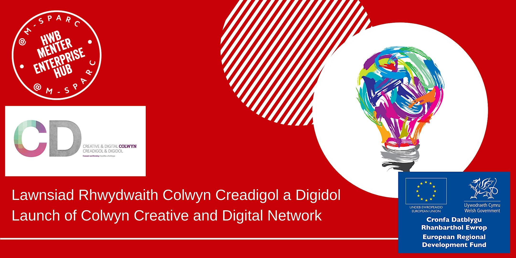 Rhwydwaith Creadigol a Digidol Colwyn /Creative and  Digital Colwyn Network