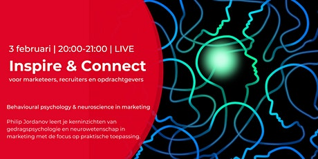 Inspire & Connect LIVE | 3 februari | Behavioural psychology & neuroscience tickets