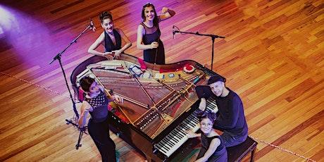"""PianOrquestra apresenta: espetáculo """"Dez mãos e um piano"""" bilhetes"""