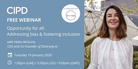 Opportunity for all: Addressing bias & fostering inclusion tickets