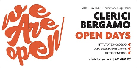 CLERICI BERGAMO OPEN DAYS! | Istituti Paritari - Fondazione Luigi Clerici biglietti