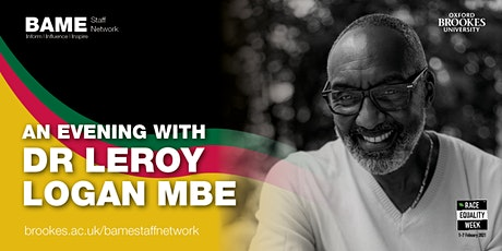 An Evening with Dr Leroy Logan MBE tickets