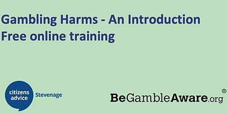 Free Gambling Awareness and Harms training tickets