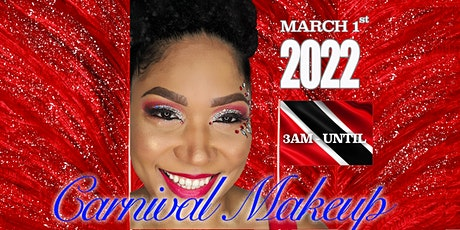 Carnival Makeup for Trinidad Carnival 2022 tickets