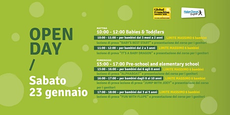 OPEN DAY HELEN DORON ENGLISH TRENTO biglietti